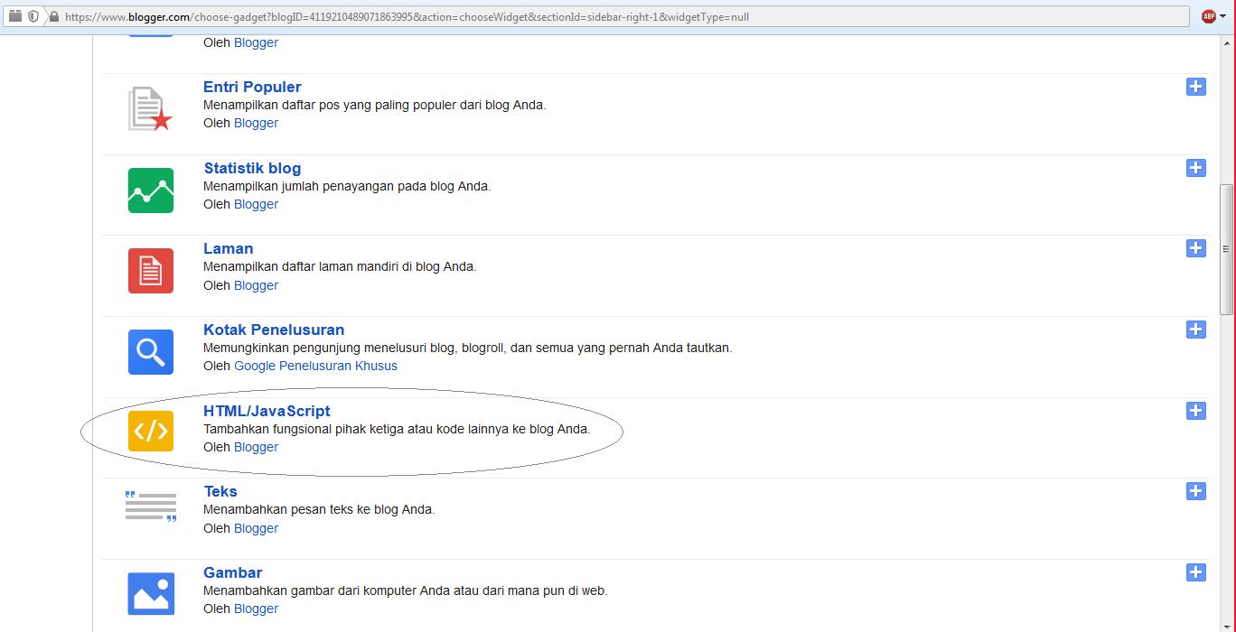 Cara Memasukan Gambar Dengan Link Di Widget Blog Arif Budiyanto Site